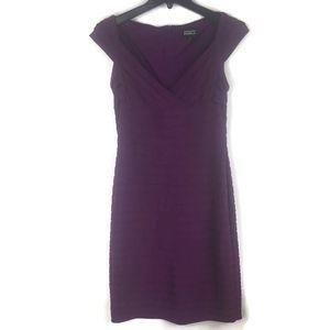 Adrianna Papell Tiered Dress Sz 10